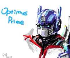 OptimusPrime by YeastSoldier