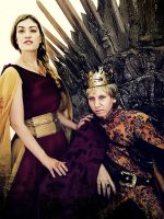 Cersei Lannister and Joffrey Baratheon Cosplay by CantoriDelWesteros