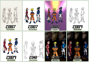 Timeline to that Naruto picture I posted earlier by Dragonfunk7