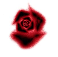 Fractal Stock - Haze rose red by rockgem