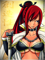 Yakuza Erza by Drago686