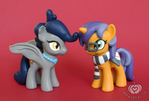 OC Customs - Belfry and Domino by Amandkyo-Su