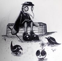 The Plague Doctor Blues by SkyWaltz