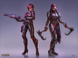 Lovely Ladies Concepts by PTimm