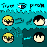 Three Eye Pirate: Test 2 (TumblrPlz) by Coolez