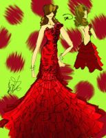 salsa dancing couture by tdbenoit