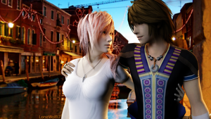 NoelxLightning: Date in Venice by LoneWolf117
