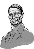 Mads Mikkelsen - LeChiffre by Abt-Nihil