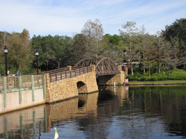 Bridge over the River by WDWParksGal-Stock