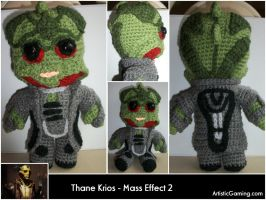 Thane Krios - Mass Effect 2 by GamerKirei
