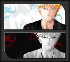 Dual Ichigo Wallpaper Pack by Reptlle