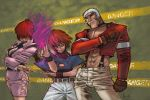 KOF_newfaces by scabrouspencil
