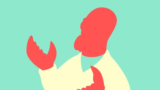 Minimalist Wallpaper? Why not Zoidberg? by Krukmeister