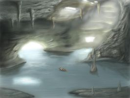 Water cave by BenficaSantos