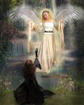 Angelic Visitation by teddiem