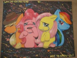For Shame Bronies by RetroNonsense