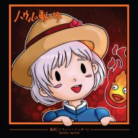 11 Howl's Moving Castle - Sophie Chibi by sorali04