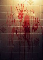 Bloody Hand Prints by kml91225