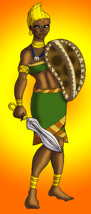 Myrina of the Libyan Amazons