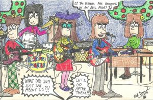 Francoise's First Gig In A Band by gretzelboy89