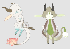 Kebloom ~ Set 4 (Customs) by LunarAdopts