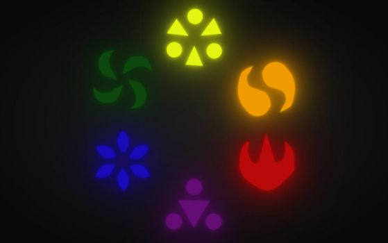 Ocarina of Time Medallions by eric22222
