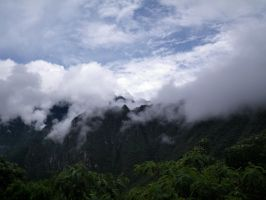 Clouds Over Peruvian Mountains by N0XN0X