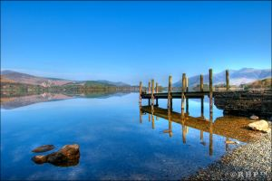 Derwent water 248-10o by Haywood-Photography