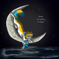 +x.strap me to the moon.x+ by cyanfreak
