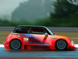 Mini Cooper Race Concept by Darwey