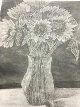 Sunflowers by SamanthaAwesomeness