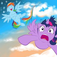 First Flight by MiraRavenheart