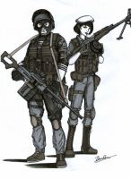 BF 3 Russian Support class by ThomChen114