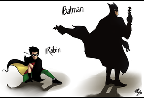 Batman And Robin by kwsmithjr
