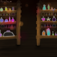 Potion Shop by starl1ghts