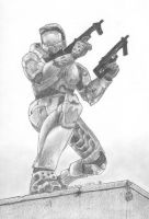 Halo 2 Master Chief by Jshei
