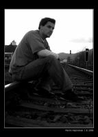 Me on railway vol.2 by H8me-CZ