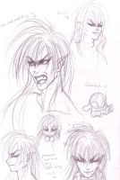 Some Jareth sketches by Cinniuint