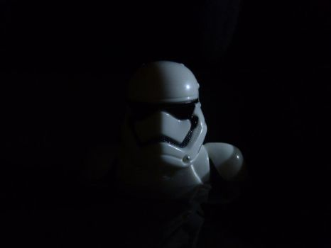 Stormtrooper In A Lake At Night by Koscielny
