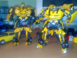 TF Movie Repaint- Bumblebee by Carnivius