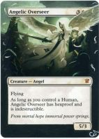 MTG Altered Card - Angelic Overseer by GhostArm1911