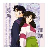 Sango+Miroku 4 eva by righteousred