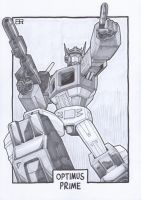 AA13 Sketch - Optimus Prime 2 by Kingoji
