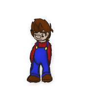 mario sketch - young by PoltergeistForever