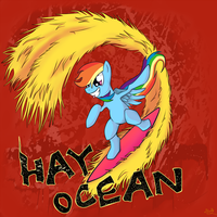 Hay Ocean! by scully8472