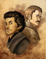 Holmes and Watson by storm-of-insanity