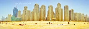 Summer in Dubai - JBR Panorama by Chanklish