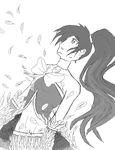 Doodle: Fall by Aijihi