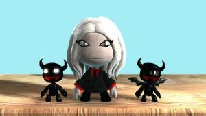 Lbp2:Cruxia and Minions by toamac