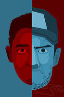 The Walking Dead - Russell And Nate by jakest123